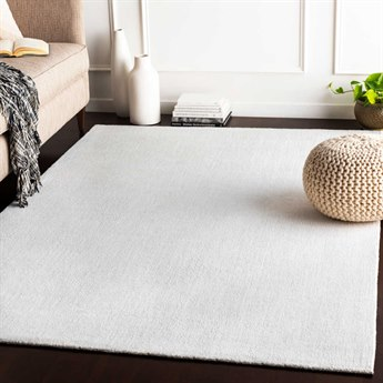 Surya Wilkinson White Rectangular Area Rug