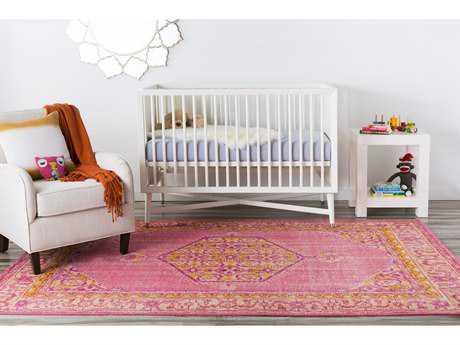Surya Zahra Rectangular Bright Pink, Coral & Saffron Area Rug SYZHA4005REC
