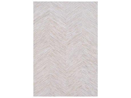 Surya Zander Cream / Taupe Tan Rectangular Area Rug
