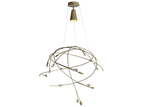 Synchronicity Gaia Crystal 31'' Wide Pendant Light SYN139827
