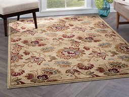 Rugs Festival Courtney Ivory Rectangular Area Rug