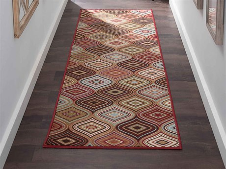 Tayse Rugs Majesty Cullen Multi-Color Runner Rug