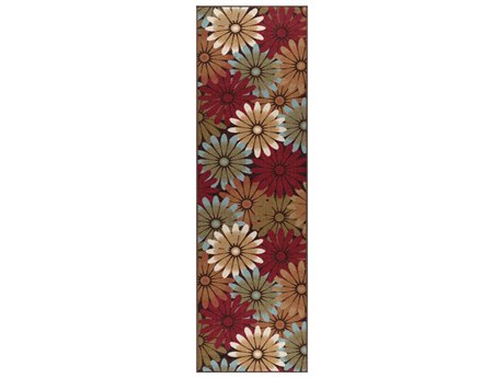 Tayse Rugs Majesty Ina Multi-Color Runner Rug