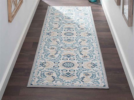 Tayse Rugs Majesty Madeline Cream Runner Rug