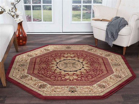 Bordered Area Rugs Luxedecor