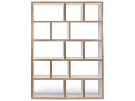 Temahome Berlin Pure White Bookcase TEM9500318115