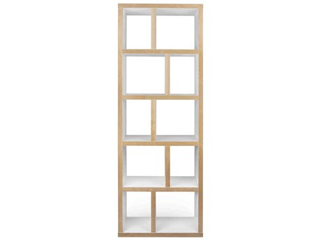 Temahome Berlin Pure White Bookcase TEM9500320217