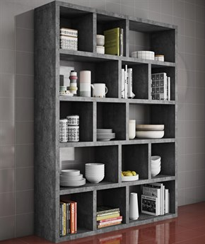 Temahome Berlin Concrete Look Bookcase TEM9500320309