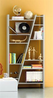 Temahome Delta Matte Grey Bookcase TEM950031634