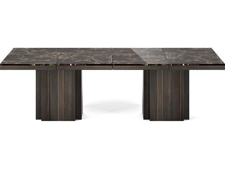 Temahome Dusk Brown / Smoked Eucalyptus 102''W X 51''D Rectangular Dining Table