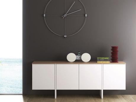 Temahome Edge Pure White / Oak Sideboard