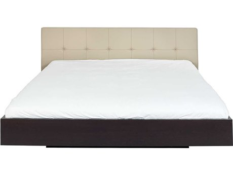 Temahome Float Beige / Wenge King Size Platform Bed TEM9500758645