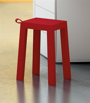 Temahome Handle Red Accent Stool TEM9000130021