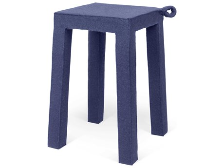 Temahome Handle Dark Blue Accent Stool