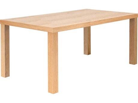 Temahome Multi Oak 63''W X 35''D Rectangular Dining Table