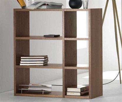 Temahome Pombal Walnut Bookcase TEM9500515293
