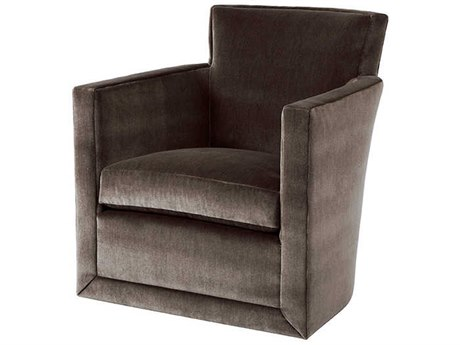 Theodore Alexander Swivel Accent Chair