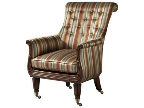Theodore Alexander Rolling Accent Chair TALA2135