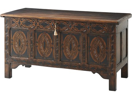Theodore Alexander Oak Accent Chest