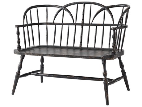 Theodore Alexander Plymouth Brown Accent Bench TALAM45001