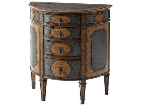 Theodore Alexander Poplar Burl Veneer / Brass Dresser TAL6005076