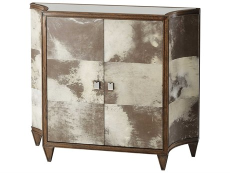 Theodore Alexander Oak / Parchment Accent Chest TAL6133061