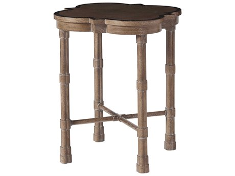 Theodore Alexander Oak Heart Veneer / Maple 22'' Wide End Table
