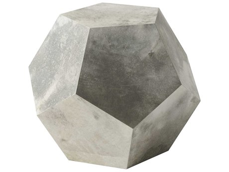 Theodore Alexander Parchment 26'' Wide Hexagon End Table