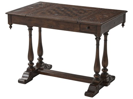 Theodore Alexander Mahogany Game Table TALCB52001