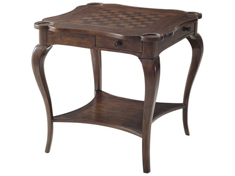 Theodore Alexander Mahogany Game Table TALCB52002