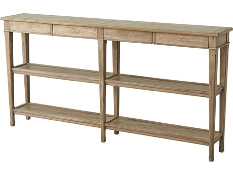 Theodore Alexander Weathered CB 72'' Wide Rectangular Console Table