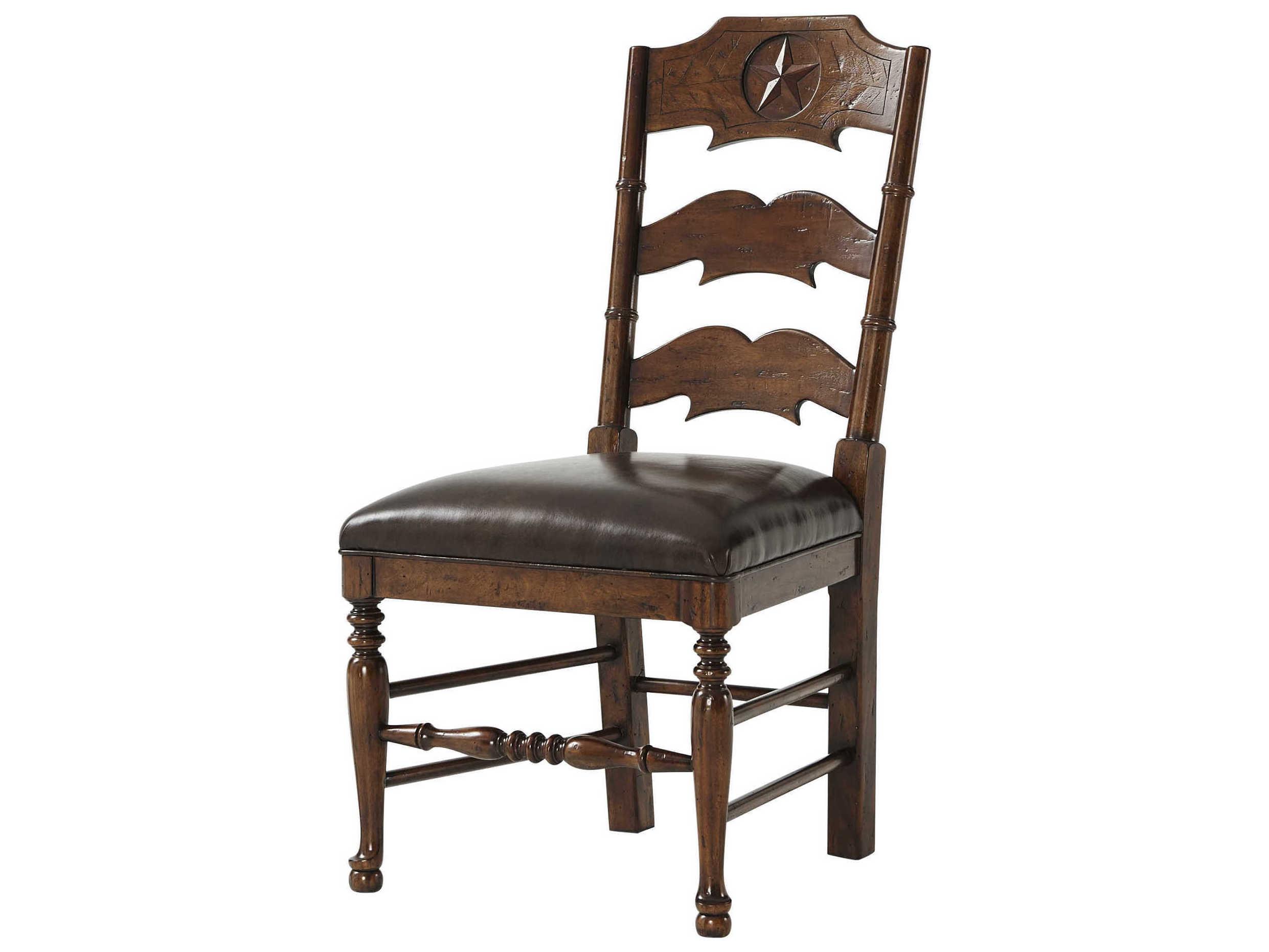 Theodore Alexander Mahogany Side Dining Chair Talcb400142agt