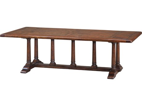 Theodore Alexander Mahogany 100'' Wide Rectangular Dining Table