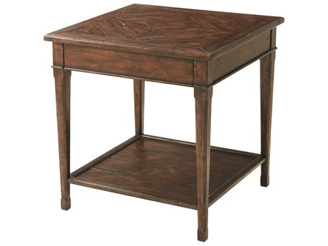 Theodore Alexander Mahogany 26'' Wide Square End Table