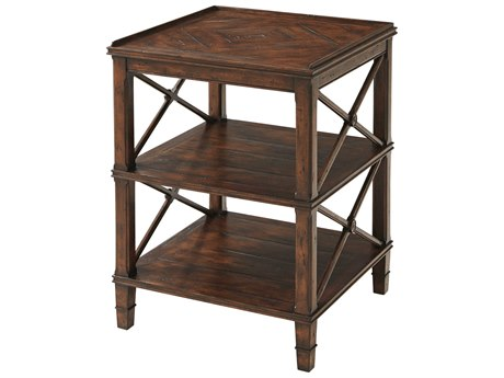 Theodore Alexander Mahogany 22'' Wide Square End Table