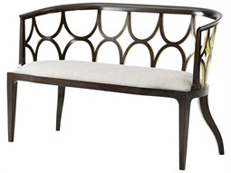 Ebonied & Gilt Accent Bench
