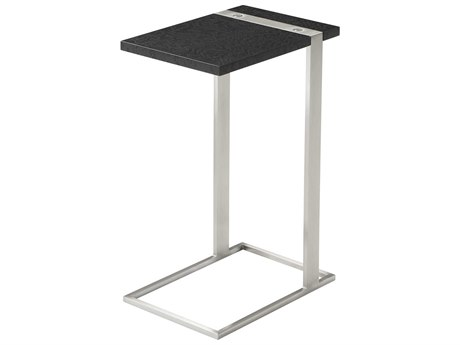 Theodore Alexander Tamo Ash Veneer / Stainless Steel 10'' Wide Square End Table TAL5029072