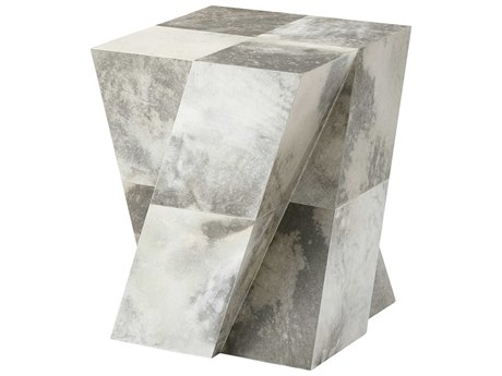 Theodore Alexander Parchment 19'' Wide Square End Table TAL5033103