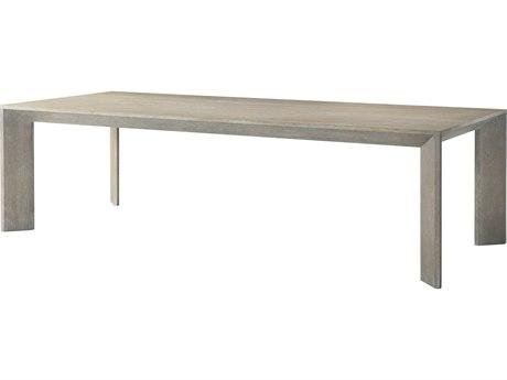 Theodore Alexander Oak Veneer / 107'' Wide Rectangular Dining Table