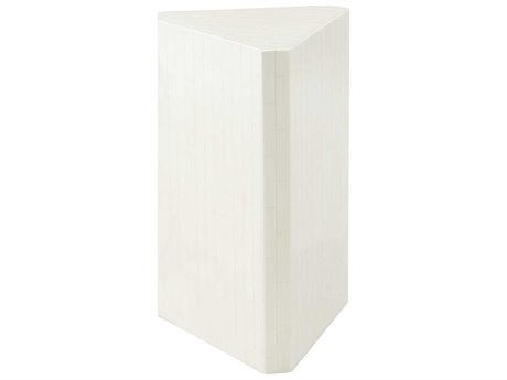 Theodore Alexander Faux Bone Inlay 15'' Wide Corner End Table