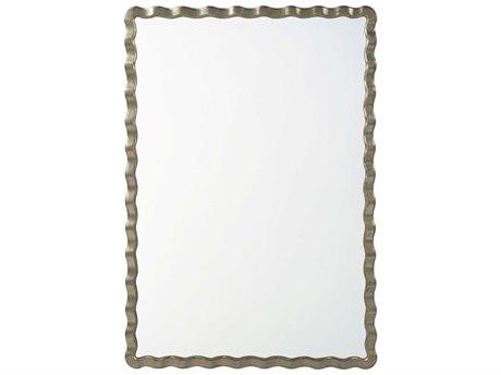 Theodore Alexander Silver Leaf Wall Mirror