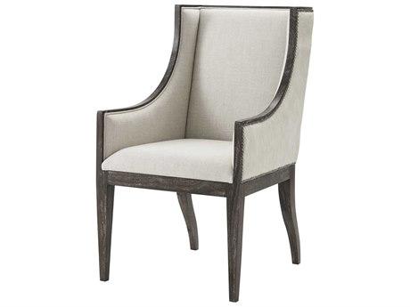 Theodore Alexander Mahogany Arm Dining Chair TAL41009272APW