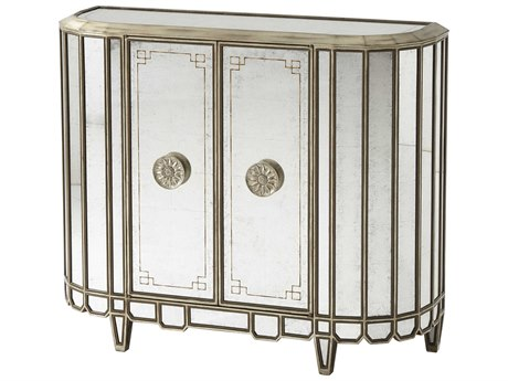 Theodore Alexander Antique Mirrored / Silver Leaf Accent Chest TAL6152012