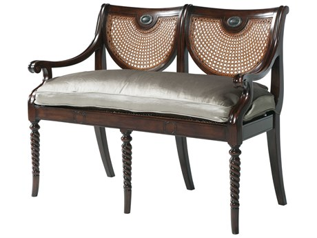 Theodore Alexander Acacia / Cane Accent Bench TAL45000361ABL