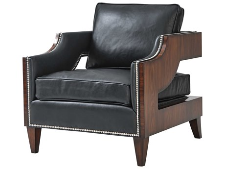 Theodore Alexander Morado Veneer Accent Chair