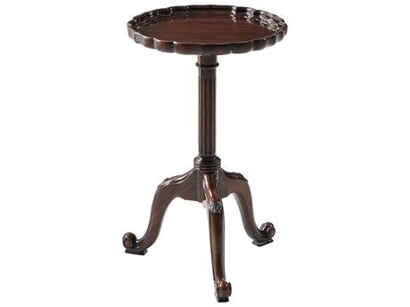 Theodore Alexander Acacia 14'' Wide Round Pedestal Table