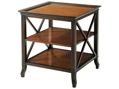 Theodore Alexander Pine 26'' Wide Square End Table