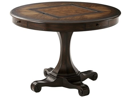 Theodore Alexander Mahogany / Acacia Oak Game Table TAL5200033