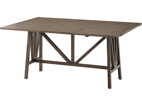Hekman Urban Retreat Khaki Light Round Dining Table