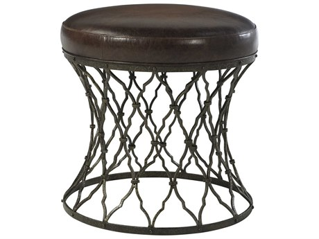 Theodore Alexander Iron Accent Stool TAL44120032AGT